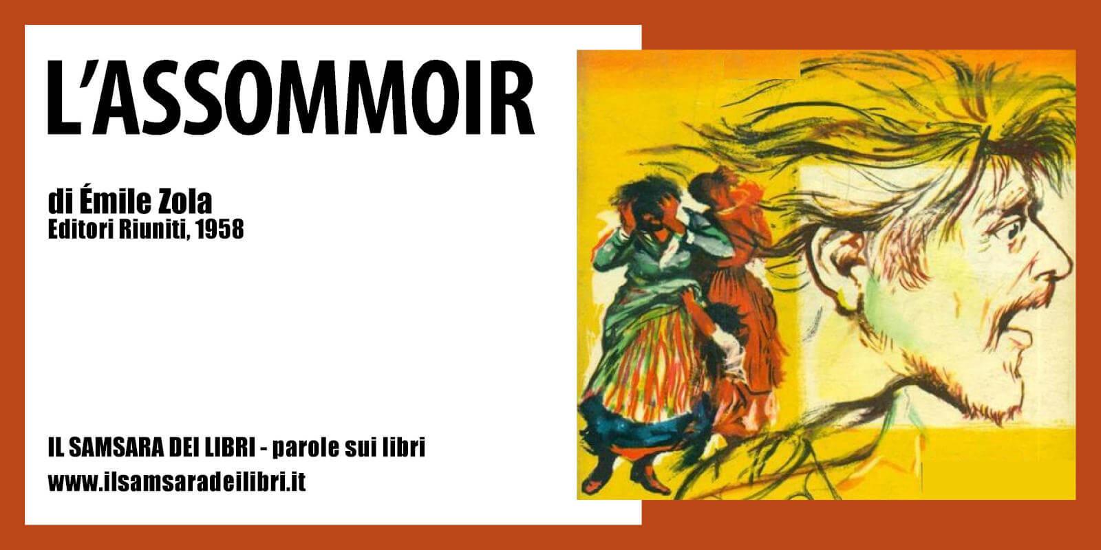 Immagine dellla copertina sul racconto dedicato a de L'Assommoir