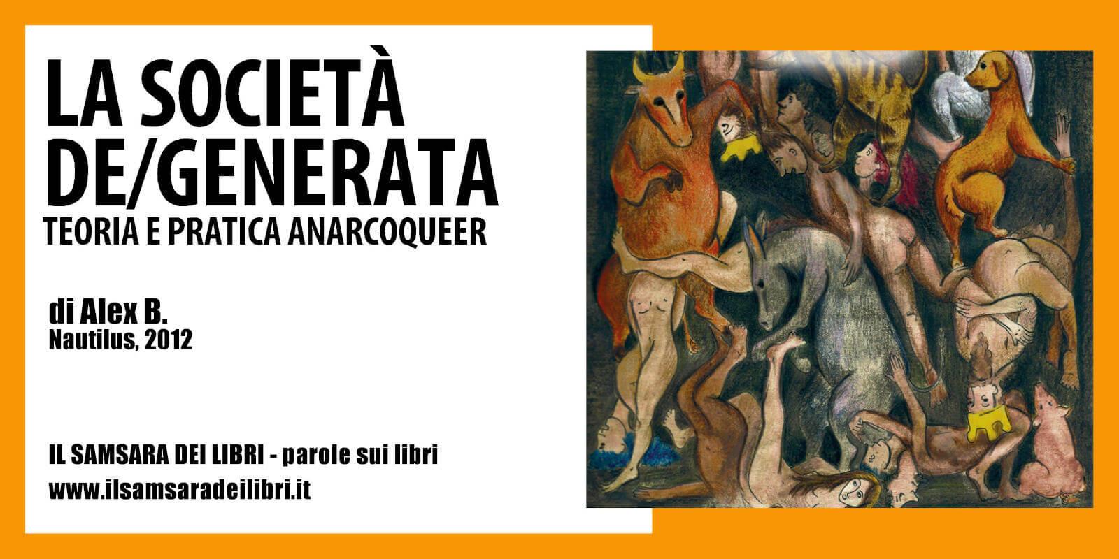 Immagine copertina libro La società de/generata