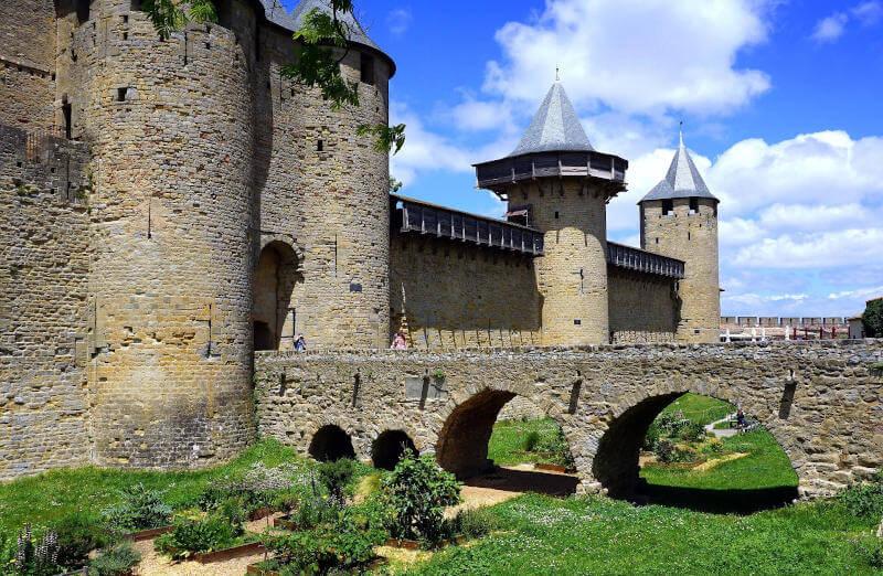 Immagine del castello di Carcassonne