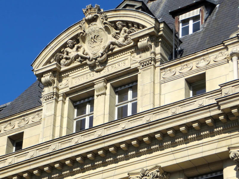 Immagine della Sorbona a Parigi
