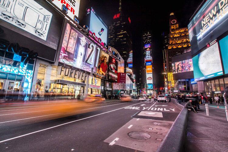 Immagine di Times Square a New York