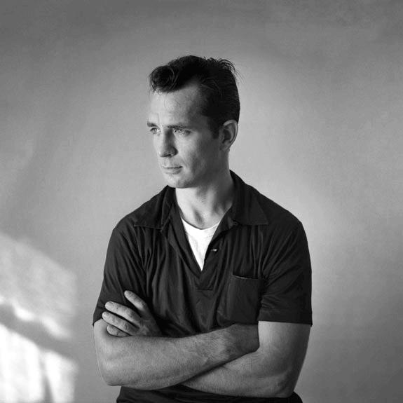 Immagine di Jack Kerouac scattata da Palumbo