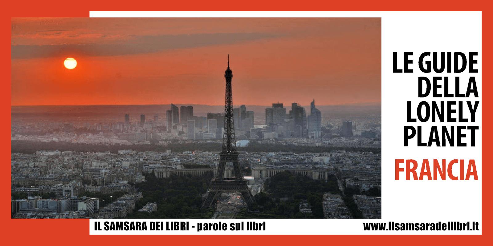 Immagine dellla copertina dedicata alle Guide della Lonely Planet di Francia