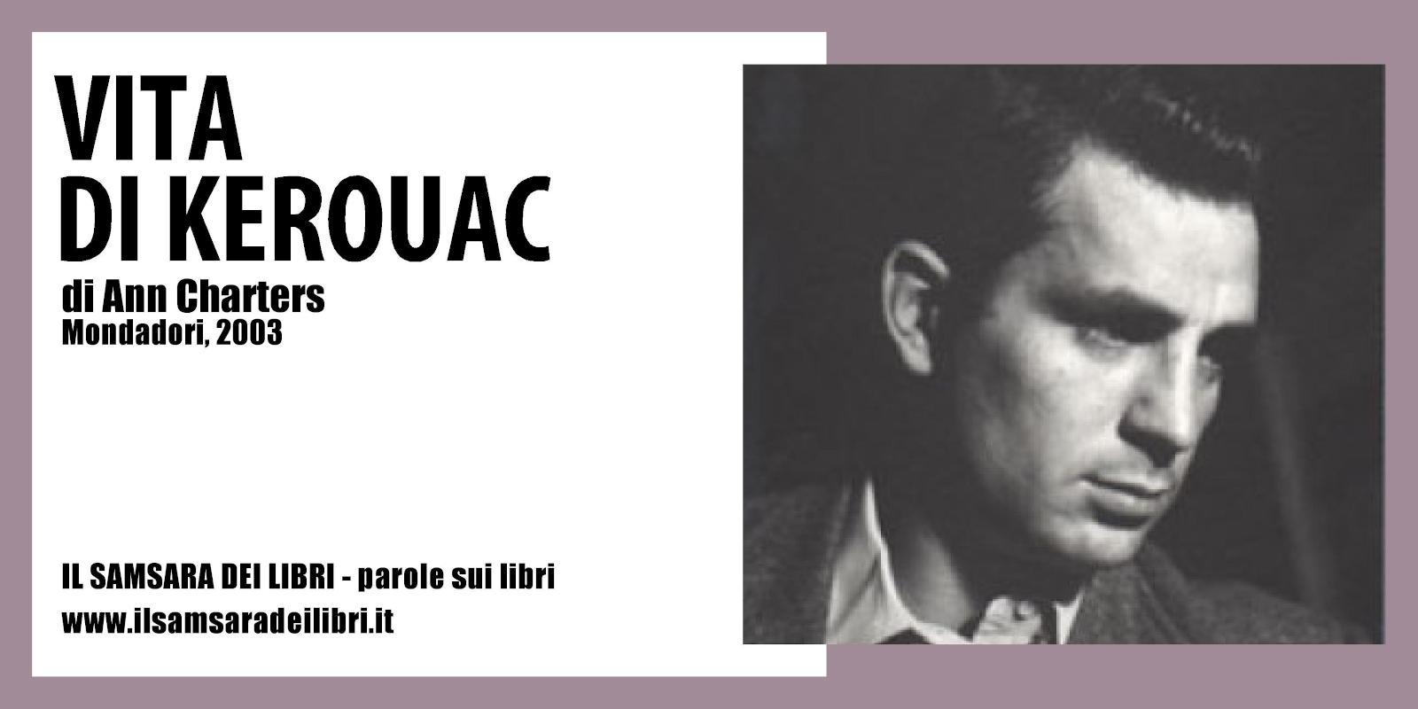Immagine dellla copertina dedicata a la Vita di Kerouac