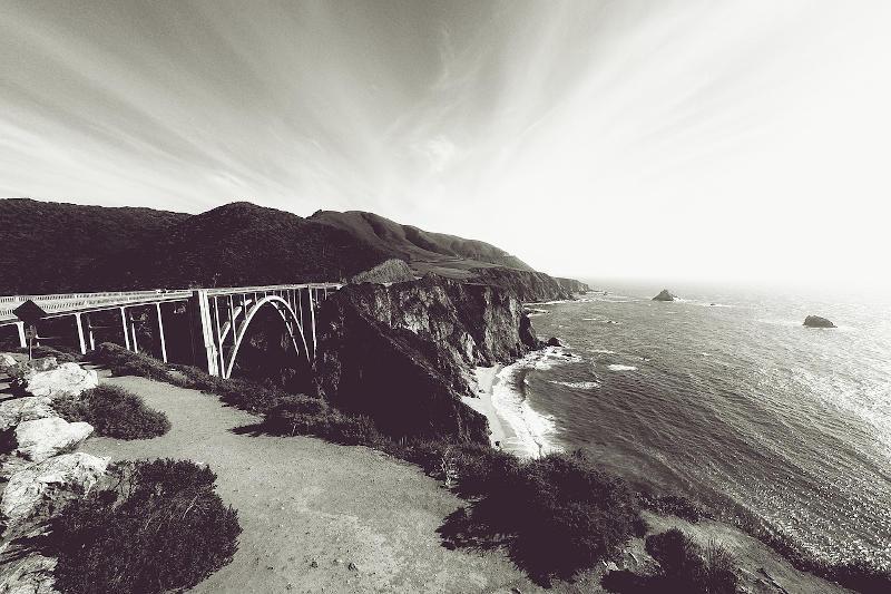 Il ponte di Bixby lungo il Big Sur