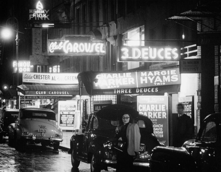 Immagine della 52esima strada a New York