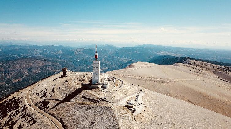 Immagine della cima del Mont Ventoux