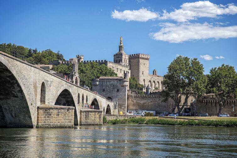 Immagine del Ponte di Avignone