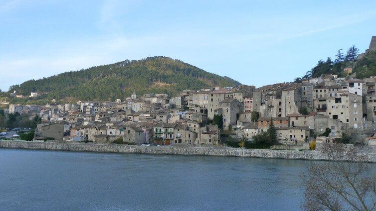 Immagine del borgo di Sisteron